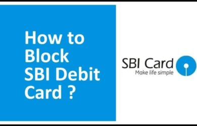 Block SBI ATM Card