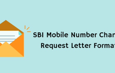 SBI Mobile Number Update