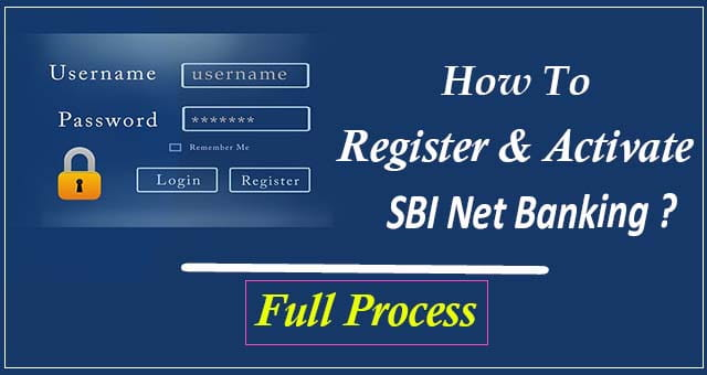 SBI Bank Net Banking