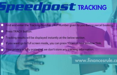 speed post delivery time