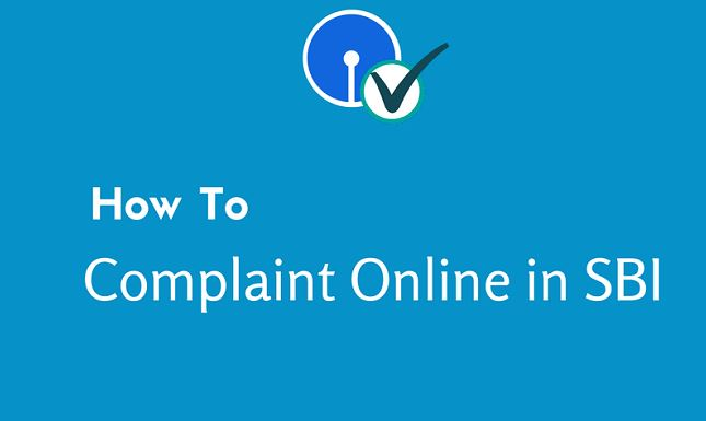 how to check sbi complaint status