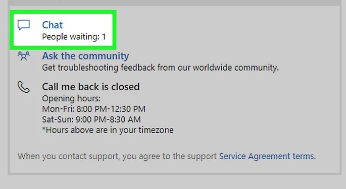 Xbox Live Chat Support